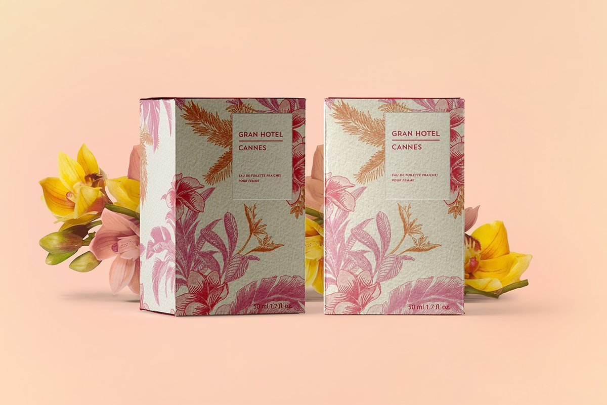 Perfume Gran Hotel - Packaging Cannes